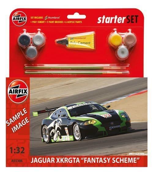 Airfix 1/32 Jaguar XKR GT3 Starter Set # A55306