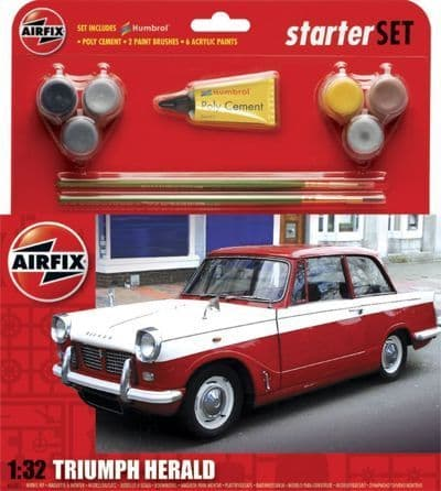 Airfix 1/32 Triumph Herald Starter Set # A55201