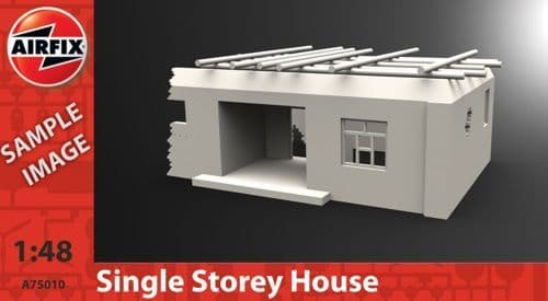 Airfix 1/48 Afghan Single Storey House # A75010