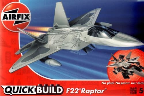 Airfix Quick Build Boeing F-22 Raptor # J6005