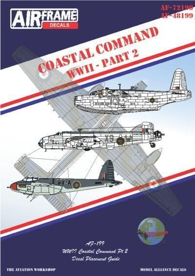 Airframe Decals 1/48 Coastal Command WWII Part 2 # 48199
