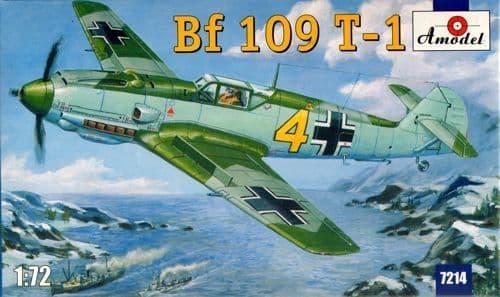 Amodel 1/72 Messerchmitt Bf109T Naval version # 7214