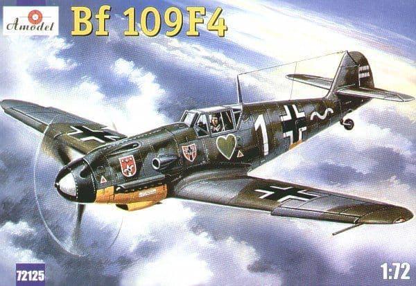 Amodel 1/72 Messerschmitt Bf 109 F-4 # 72125