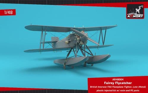 Armory 1/48 Fairey Flycatcher Floatplane on Metal Floats # 48004