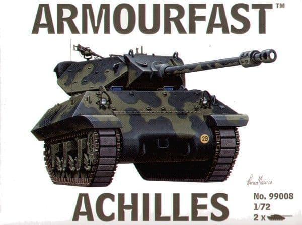Armourfast 1/72 Achilles Tank Destroyer x 2 # 99008
