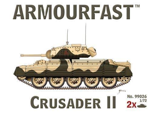 Armourfast 1/72 Crusader Mk.II x 2 # 99026