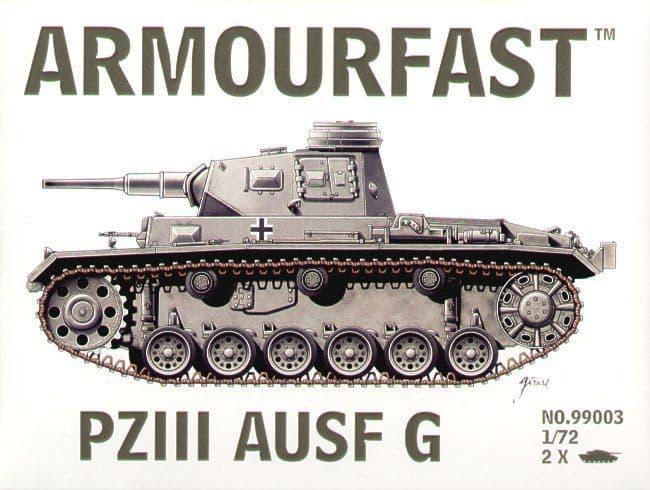 Armourfast 1/72 Edit Pz.III Ausf. G x 2 # 99003
