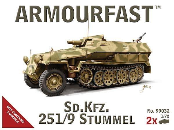 Armourfast 1/72 German Sd.Kfz.251/9 Stummel # 99032