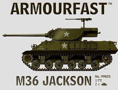 Armourfast 1/72 M36 Jackson # 99025