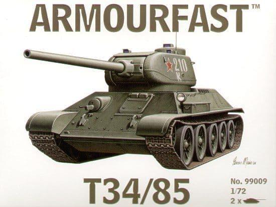 Armourfast 1/72 Soviet T-34/85 x 2 # 99009