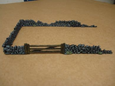 Armourfast 1/72 Stone Walls & Gate # 79002