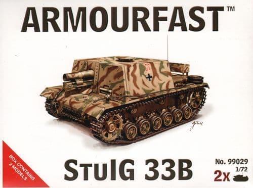 Armourfast 1/72 StuIG 33B x 2 kits # 99029