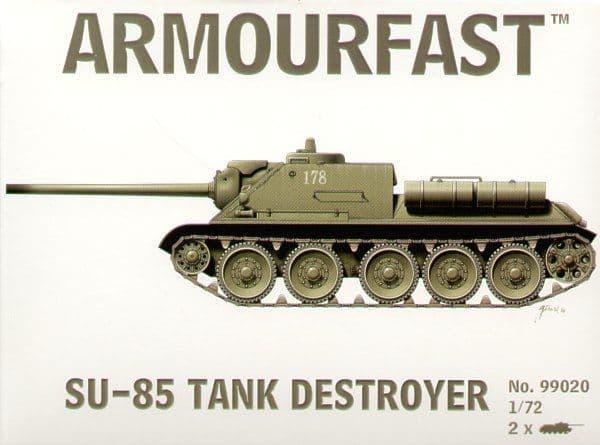 Armourfast 1/72 Su-85 Tank Destroyer # 99020