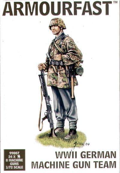 Armourfast 1/72 WWII German Machine Gun Team # 99007