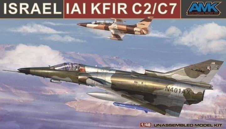 Avant Garde 1/48 Israel IAI Kfir C2/C7 # 88001-A