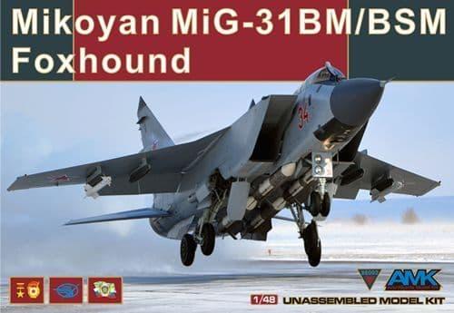 Avant Garde 1/48 MiG-31BM/BSM Foxhound # 88003