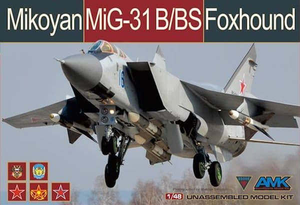 Avant Garde 1/48 Mikoyan MiG-31B/BS Foxhound # 88008