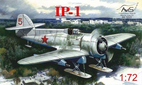 Avis 1/72 Grigorovich IP-1 on Skis # BX72025