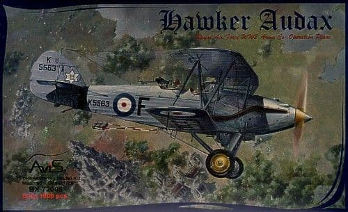 Avis 1/72 Hawker Audax # 72008