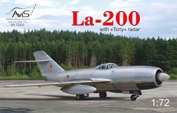 Avis 1/72 Lavochkin La-200 with Toriy Radar # BX72022
