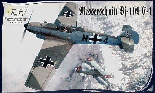 Avis 1/72 Messerschmitt Bf 109 C-1 # 72012