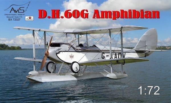 Avis 1/72 de Havilland DH-60G Amphibian # BX72027
