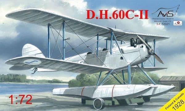 Avis 1/72 de Havilland DH.60C-II Finland & Canada # BX72021