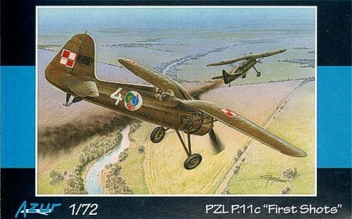 "Azur 1/72 PZL P.11c ""First Shots"" # 112"