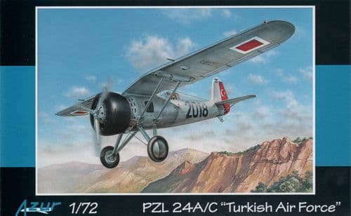 Azur 1/72 PZL P.24A/C Turkish Air Force # A102