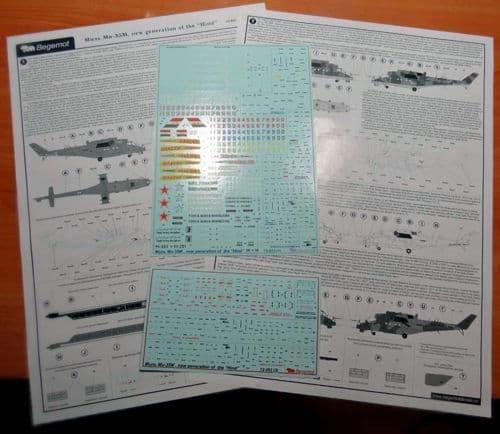 """Begemot 1/72 Mil Mi-35M """"Hind"""" # 7253"""