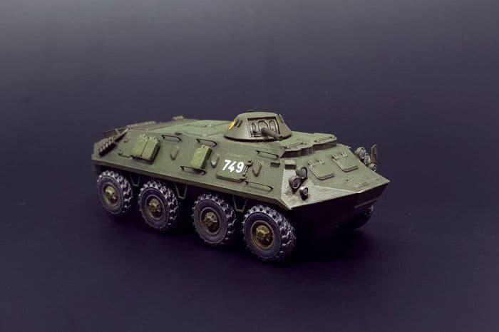 Brengun 1/144 BTR-60 Soviet APC # 144044