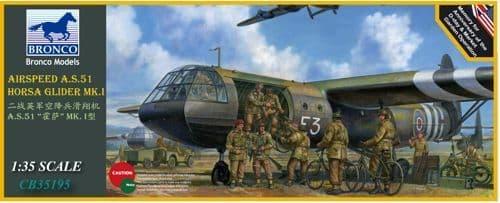 Bronco 1/35 Airspeed A.S.51 Horsa Glider Mk.I # CB35195