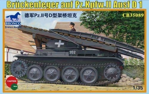 Bronco 1/35 Bruckenleger auf Pz.Kpfw.II Ausf. D1 # CB35089