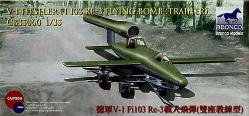 Bronco 1/35 German V-1 Fieseler FI103 RE-3 Flying Bomb (Trainer) # CB35060