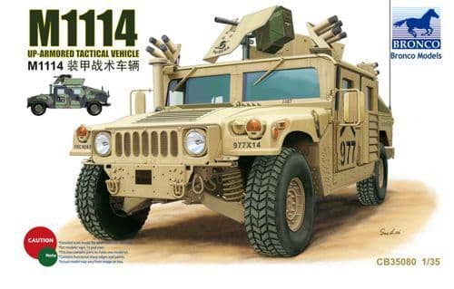Bronco 1/35 M1114 Up-Armored Tactical Vehicle # CB35080