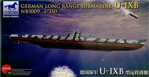 Bronco 1/350 German Long Range Submarine U-IXB # NB5009