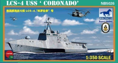 Bronco 1/350 LCS-4 USS 'Coronado' # NB5026