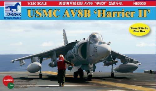 Bronco 1/350 McDonnell-Douglas USMC AV8B 'Harrier II' # NB5030