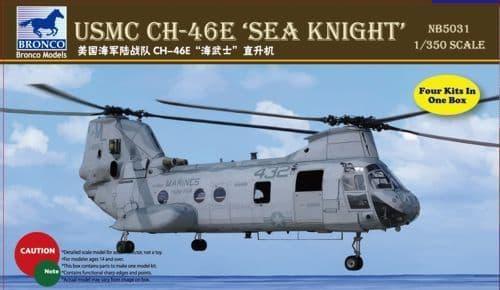 Bronco 1/350 USMC CH-46E 'Sea Knight' # NB5031