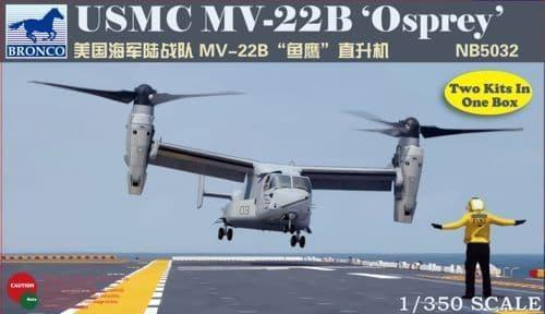 Bronco 1/350 USMC MV-22B 'Osprey' # NB5032