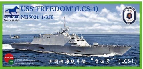 "Bronco 1/350 USS ""Freedom"" (LCS-1) # NB5021"