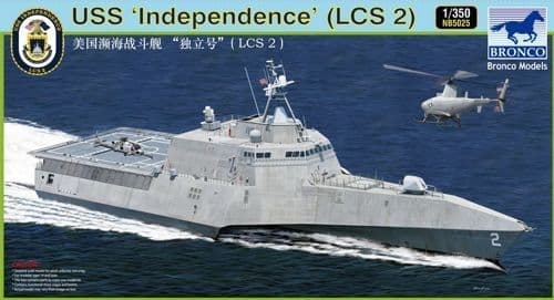 Bronco 1/350 USS 'Independence' (LCS-2) # NB5025