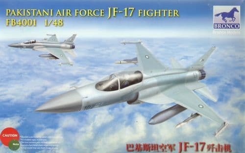 Bronco 1/48 JF-17 Fighter Pakistan Air Force # FB4001
