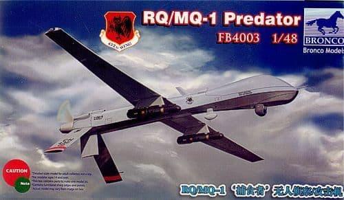 Bronco 1/48 RQ/MQ-1 Predator # FB4003