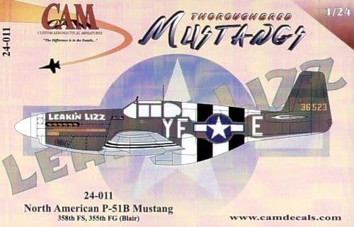 CAM 1/24 North-American P-51B Mustang # 24011