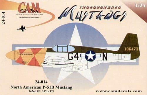 CAM 1/24 North-American P-51B Mustang # 24014