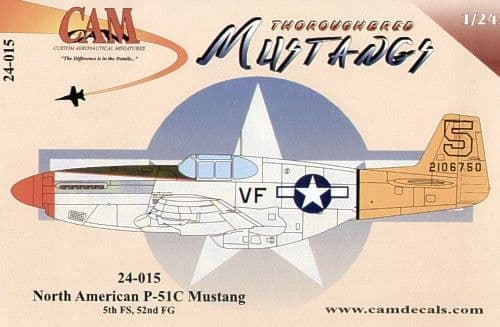CAM 1/24 North-American P-51C Mustang # 24015