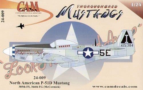 CAM 1/24 North-American P-51D Mustang # 24009