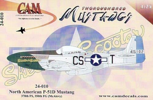 CAM 1/24 North-American P-51D Mustang # 24010