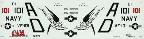 CAM 1/32 Grumman F-14B Tomcat # 32078